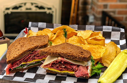 black forest sandwich lunch in portsmouth nh