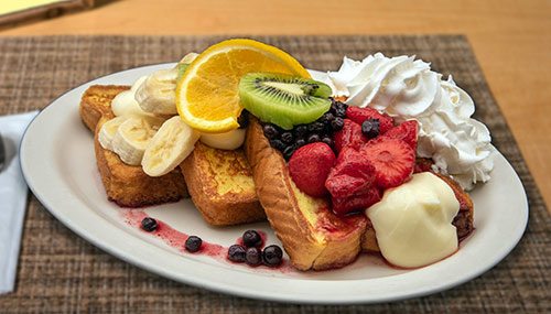 Country View Restaurant French Toast Breakfast