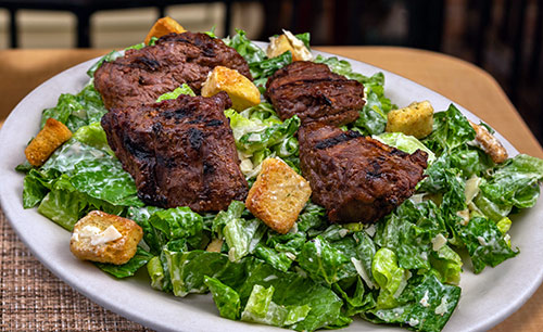 caesar steak tip salad in portsmouth nh