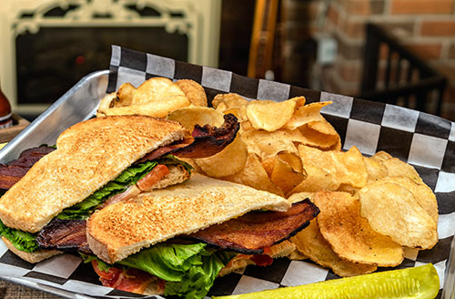 blt sandwich lunch in portsmouth nh