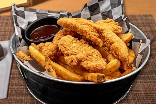 chicken finger basket lunch in portsmouth nh