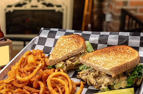 chicken salad sandwich lunch portsmouth nh