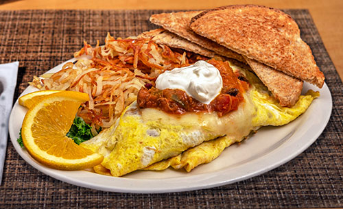 Chili Cheese omelette breakfast portsmouth nh