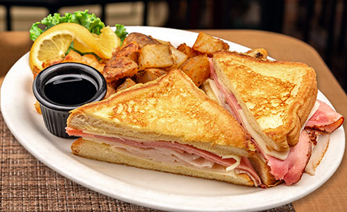 Monte Cristo Breakfast sandwich portsmouth nh