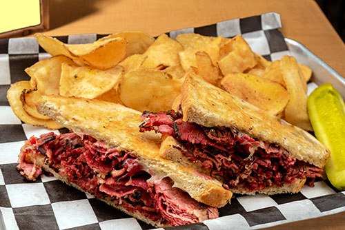 hot pastrami sandwich lunch in portsmouth nh