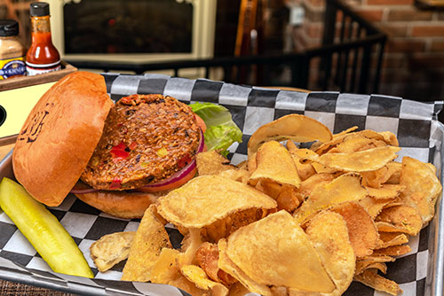 veggie burger lunch in portsmouth nh